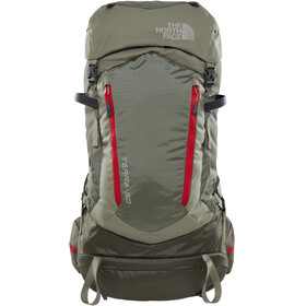 The North Face Terra 50 Backpack Grape Leaf/Deep Lichen Green